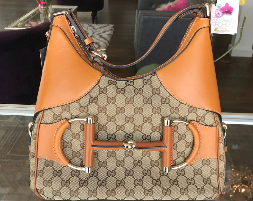 Gucci Web Horsebit Hobo