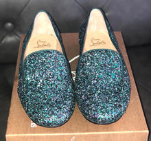 Load image into Gallery viewer, Christian Louboutin Sakouette Glitter Flats