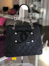 Load image into Gallery viewer, Chanel Timeless Tote Textured Travel Voyage Nylon