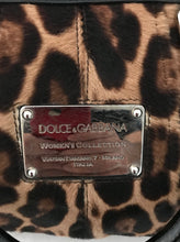 Load image into Gallery viewer, Dolce & Gabbana Leopard Print Miss Urbanette