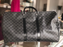Load image into Gallery viewer, Louis Vuitton Keepall 55 Damier Graphite