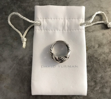 David Yurman Woven Cable Ring