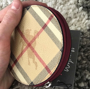 Burberry Haymarket Coin Purse