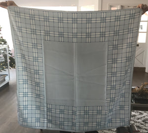 Burberry Light Blue Nova Check Scarf