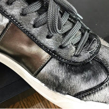 Load image into Gallery viewer, Valentino Grey Stud Sneakers