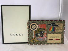 Load image into Gallery viewer, Gucci Courrier GG Supreme Pouch