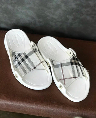 Burberry Beach Flip Flops