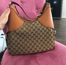 Load image into Gallery viewer, Gucci Web Horsebit Hobo