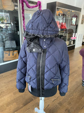 Load image into Gallery viewer, Navy Moncler Coat