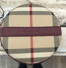 Load image into Gallery viewer, Burberry Haymarket Coin Purse