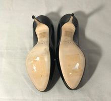 Load image into Gallery viewer, Christian Dior Black Miss Dior Pumps