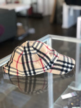 Load image into Gallery viewer, Burberry Cashmere Baseball Cap