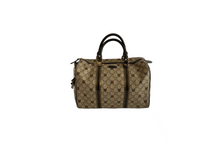 Load image into Gallery viewer, Gucci GG Supreme Joy Web Heart Bag