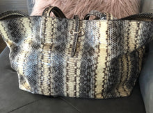 Load image into Gallery viewer, Ferragamo Snake Skin Tote