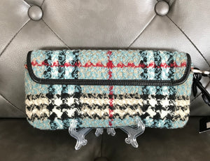 Burberry Tweed Wristlet