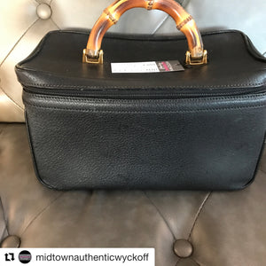Gucci Vintage Train Case