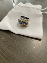 Load image into Gallery viewer, David Yurman Renaissance Topaz Cigar Band Ring