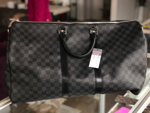 Louis Vuitton Keepall 55 Damier Graphite