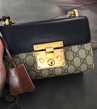 Load image into Gallery viewer, Gucci Padlock Small GG Shoulder Bag