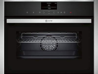 Neff C17FS32N0B Compact Steam Single Oven