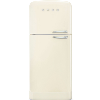Smeg FAB50 50's Retro Style Two Door Refrigerator/Freezer - Right or Left Hand Hinge, Multiple Colours Available