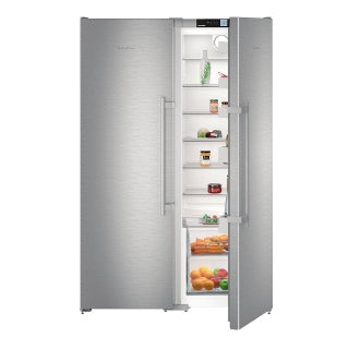 Liebherr SBSef 7242 Freestanding Side By Side Fridge And Freezer