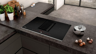 Neff T58TS6BN0 FlexInduction Cooktop With Integrated Downdraft Ventilation
