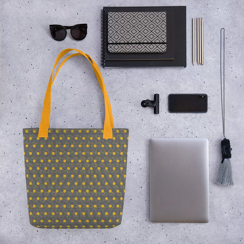 *Geo Gray* Design Tote Bag