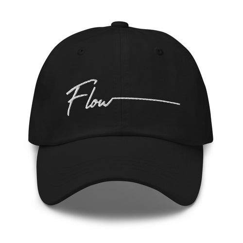 *Flow* Embroidered Dad hat