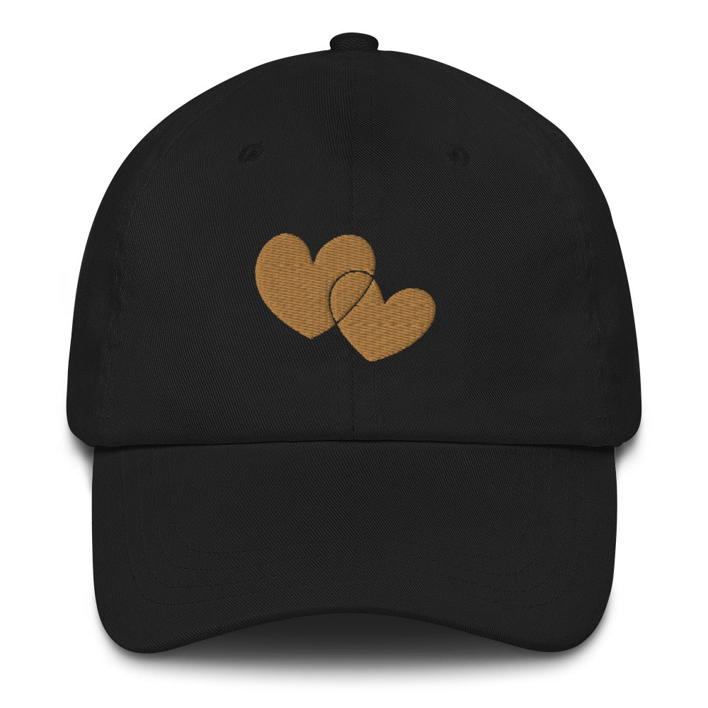 *Heart of Gold* Embroidered Dad-style hat