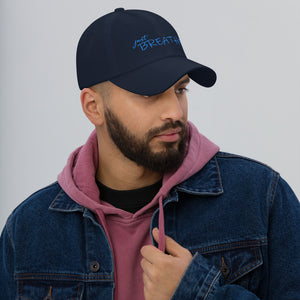 *Just Breathe* Embroidered Dad hat