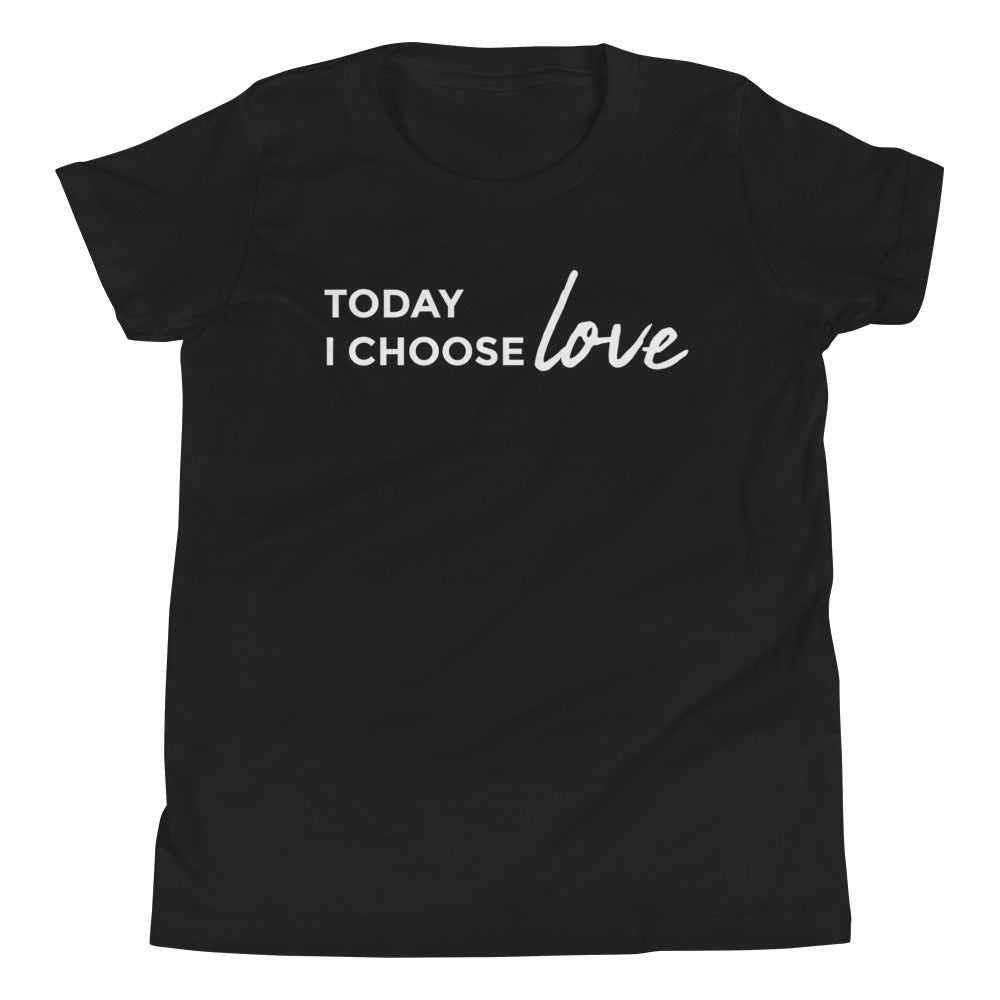 *Choose LOVE* Youth Short-Sleeve Tee