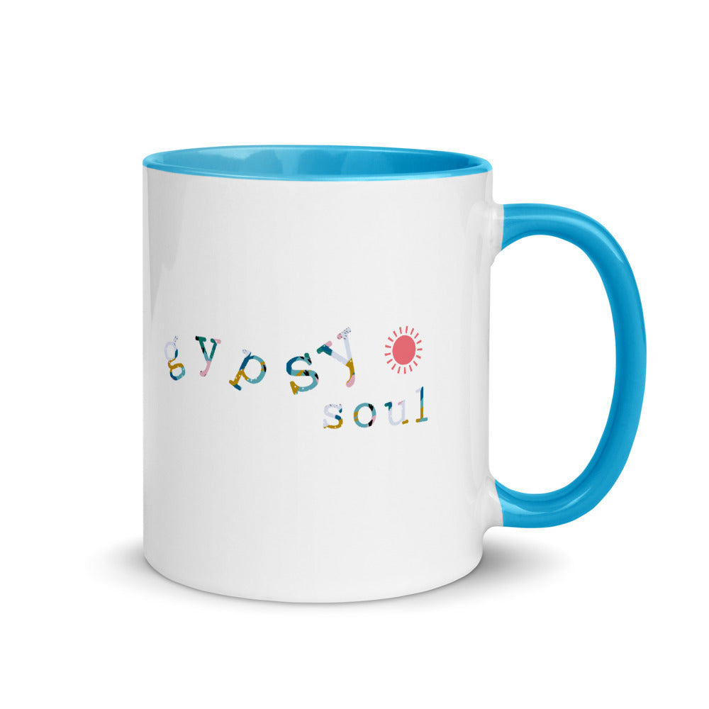Mug *Gypsy Soul* Custom Design with Color Inside