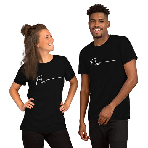 *FLOW* Short-Sleeve Unisex Crew-Neck Tee