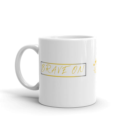 Mug *Brave On* Custom Design