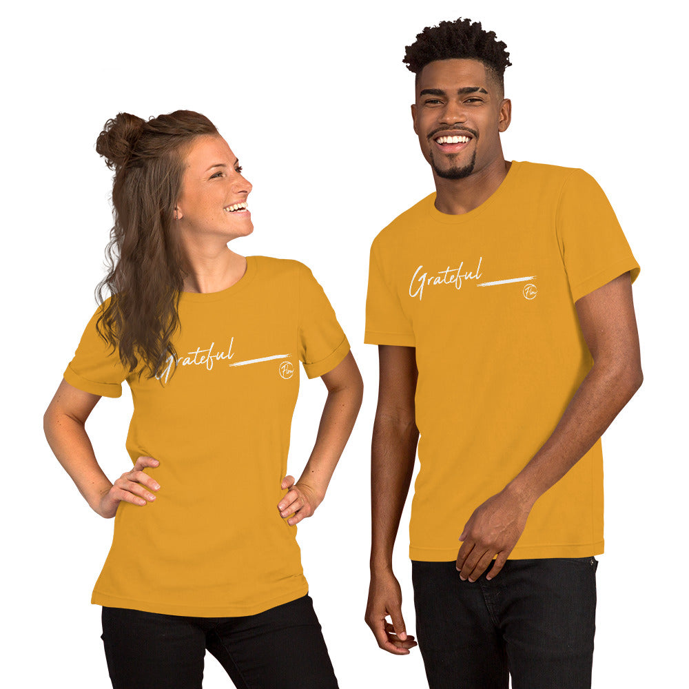*Grateful* Short-Sleeve Unisex T-Shirt