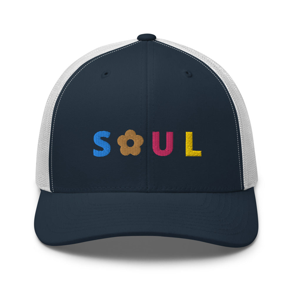 *Soul* Embroidered Trucker Cap