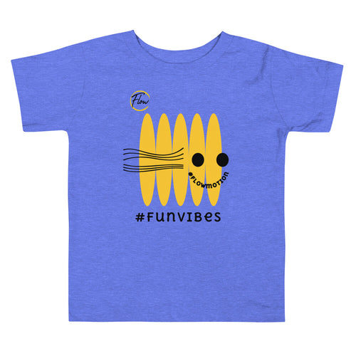 *FlowMotion* #FunVibes Toddler Short Sleeve Tee