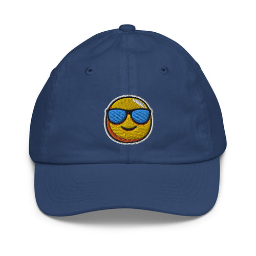 *Adventure Day* Embroidered Design, Youth baseball cap