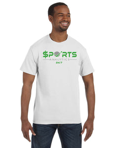 White SA247 Short Sleeve T-Shirt