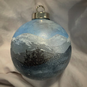 Holiday Ornament Blue Ridge Snowstorm (ball)