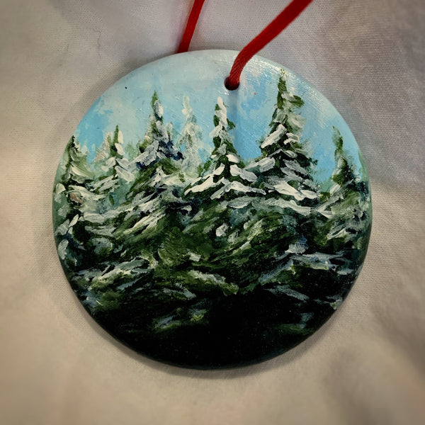 Holiday Ornament Winter Wonderland II (disc)