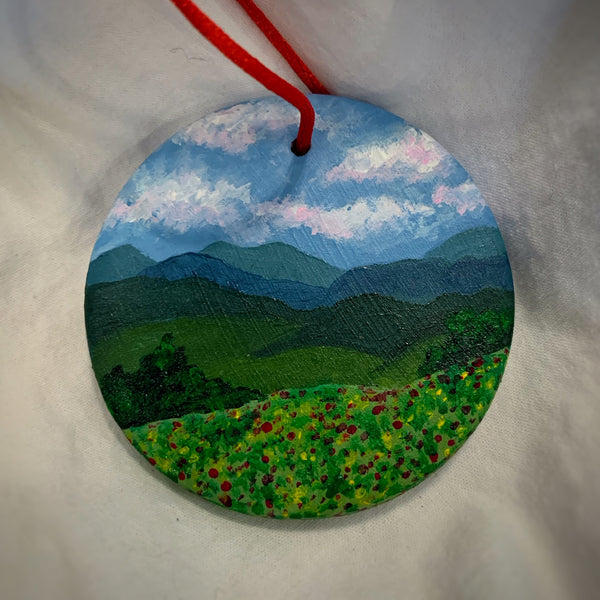 Holiday Ornament Blue Ridge Summer (disc)