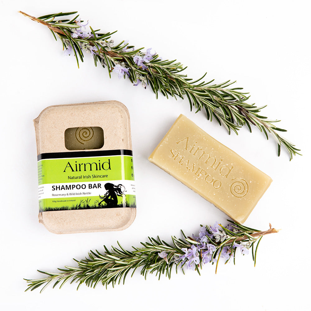 Airmid Natural Rosemary Wild Irish Nettle Shampoo