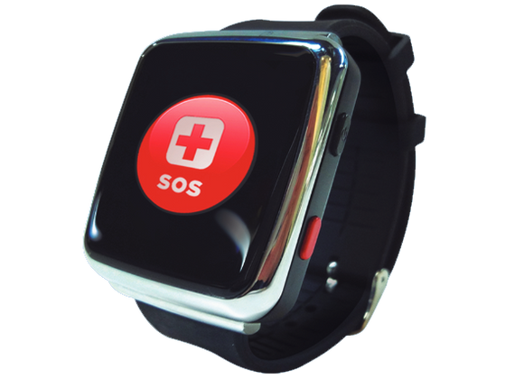 NurtureWatch -  4G/LTE SOS Fall Detection watch for seniors