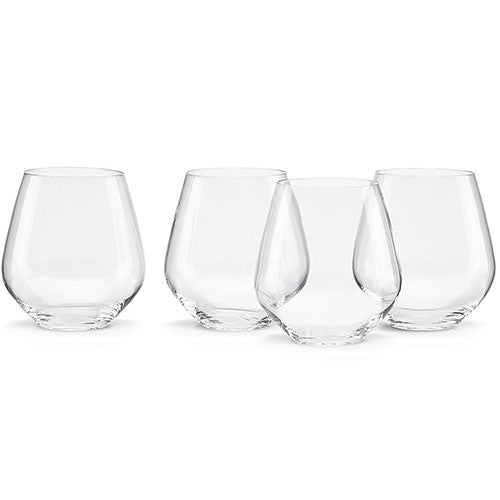 Tuscany Classics 4-piece Simply Red Tumbler Set