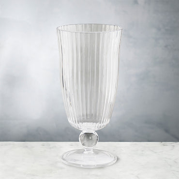 Vida Venice Tumbler Acrylic Clear Set of 8