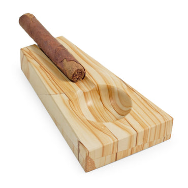 Natural Marble Cigar Ashtray