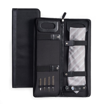 Travel Tie Case with Accessory Pocket
