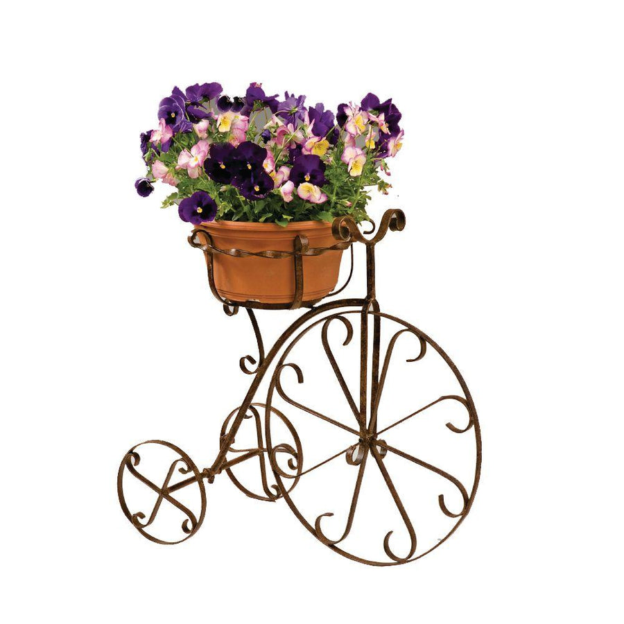Bicycle Plant Stand Garden Metal